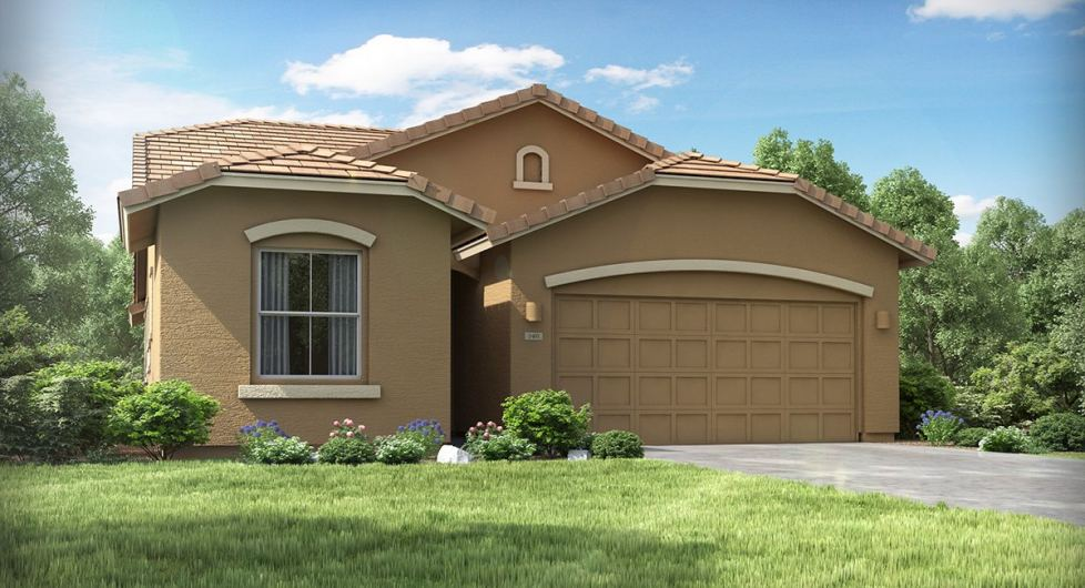 New homes in San Tan Valley showcasing modern designs and with great amenities