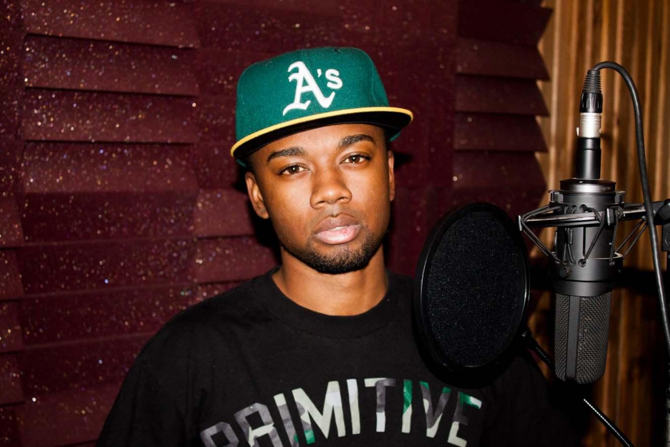 D Sloan In Studio