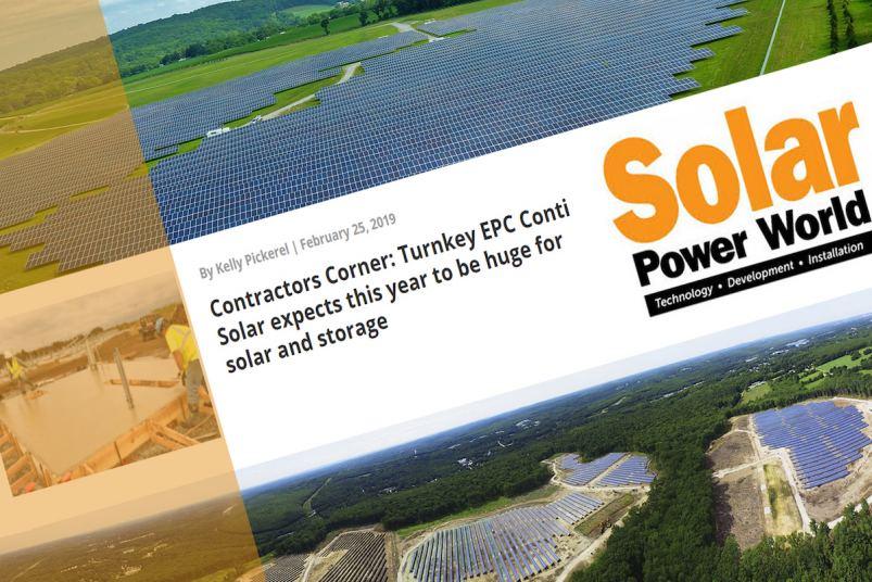 Conti Solar Eric Millard on Solar Power World Podcast