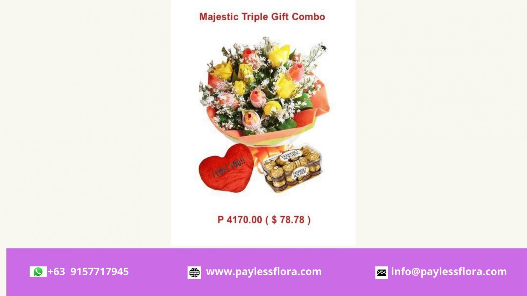 paylessflora.com-Flowers And Chocolates delivery Philippines