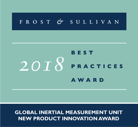 ACEINNA OpenIMU - New Product Innovation Award from Frost & Sullivan