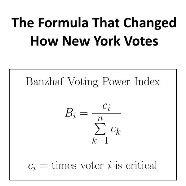 """Calculations Show It Would Violate """"One Man, One Vote"""""""