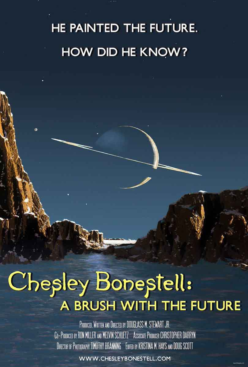 Poster Art - Chesley Bonestell: A Brush with the Future
