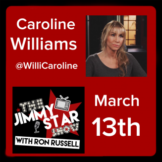 Caroline Williams on The Jimmy Star Show With Ron Russell