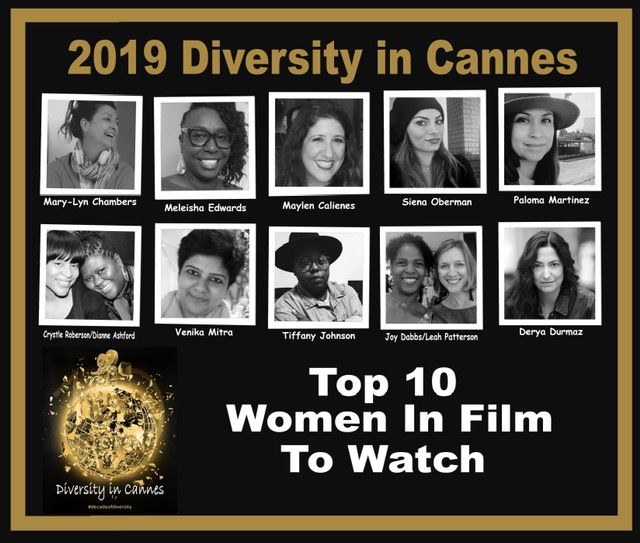 DIVERSITY IN CANNES TOP 10 WOMEN IN FILM
