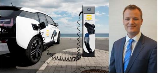 HARTING is a partner in the area of e-mobility : Marco Grinblats ( Director)