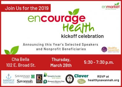 Encourage Health Kick-Off Invitation