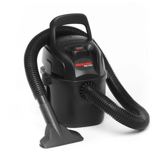 The Shop VAC Micro 4 - a handheld, lightweight model that's easily transportable