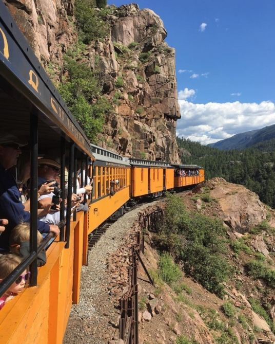 The D&SNGRR's new Cascade Canyon Express is just two hours in duration.