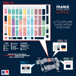 French Pavilion at ProWein 2019