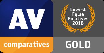 AV-Comparatives  Gold award to ESET _falsepositive