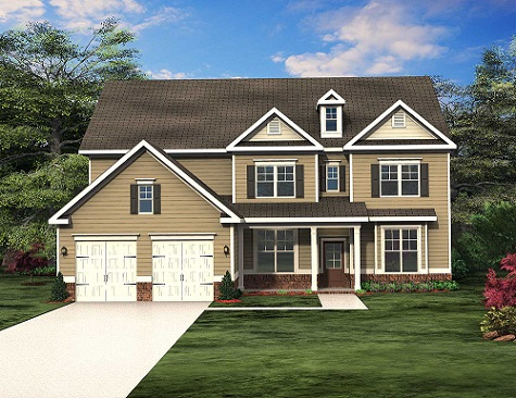 The Manchester is 1 of 4 Floor Plans by Paran Homes Featured at Magnolia Court