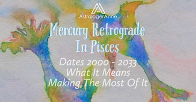 Mercury in Pisces is a challenge. A retrograde makes it even harder-here's why.