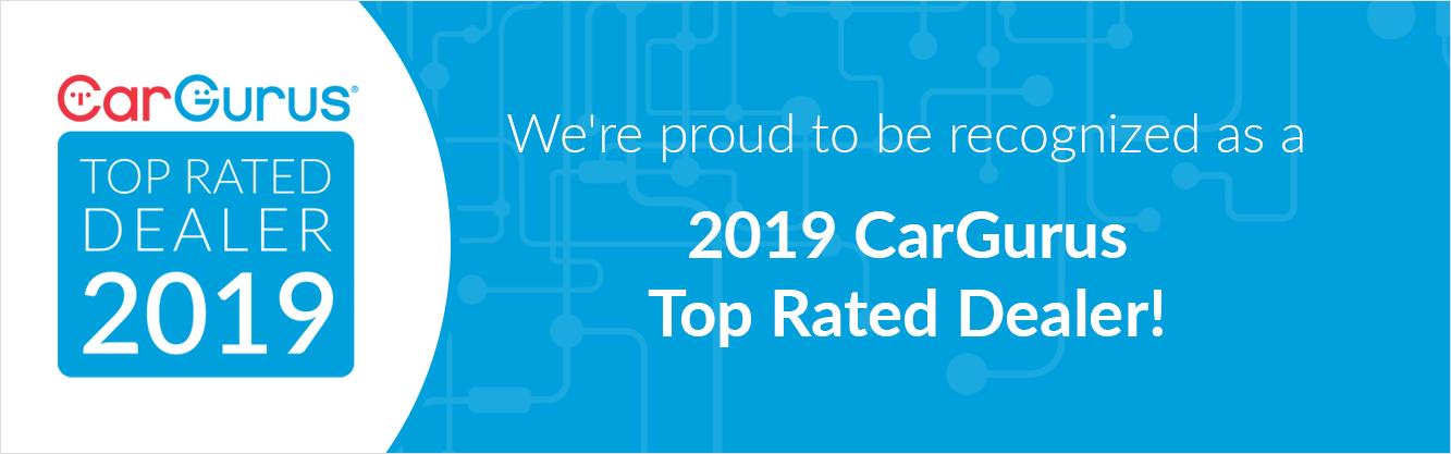 2019 Car Gurus Top Rated Dealer Award logo