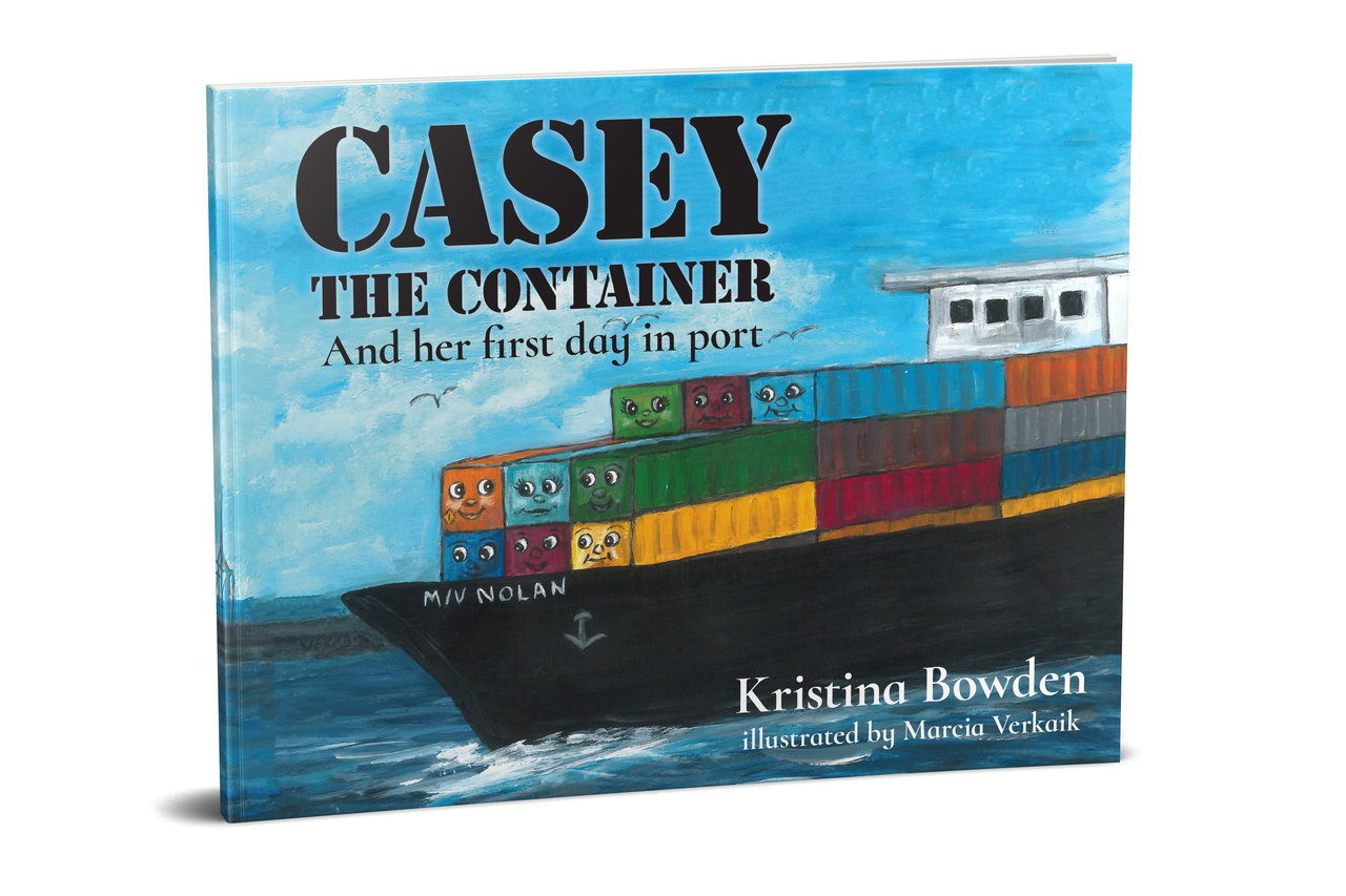 Casey the Container: And her first day in port