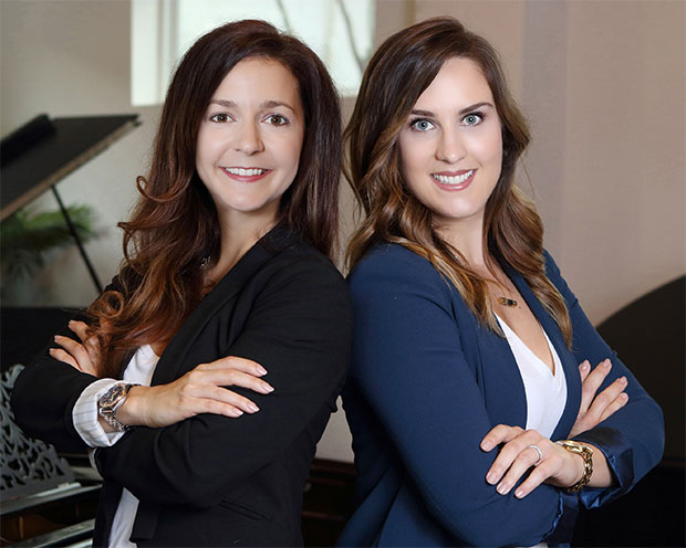 Pop Realty co-founders Realtor Cathryn Cotrone and Broker Kayla Sorrell