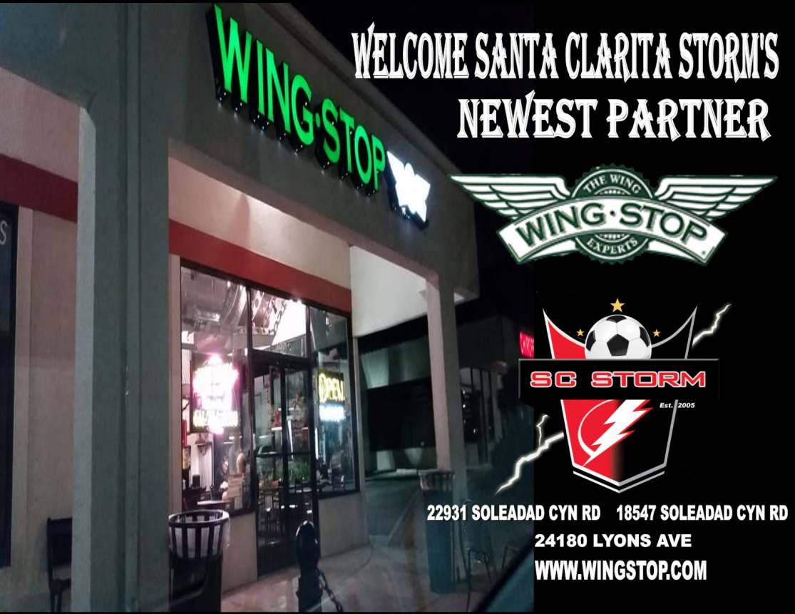 Welcome Wingstop to the Santa Clarita Storm