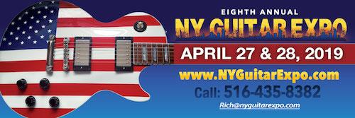 NY Guitar Expo April 27th-28th at Freeport Recreation Center, Freeport, NY