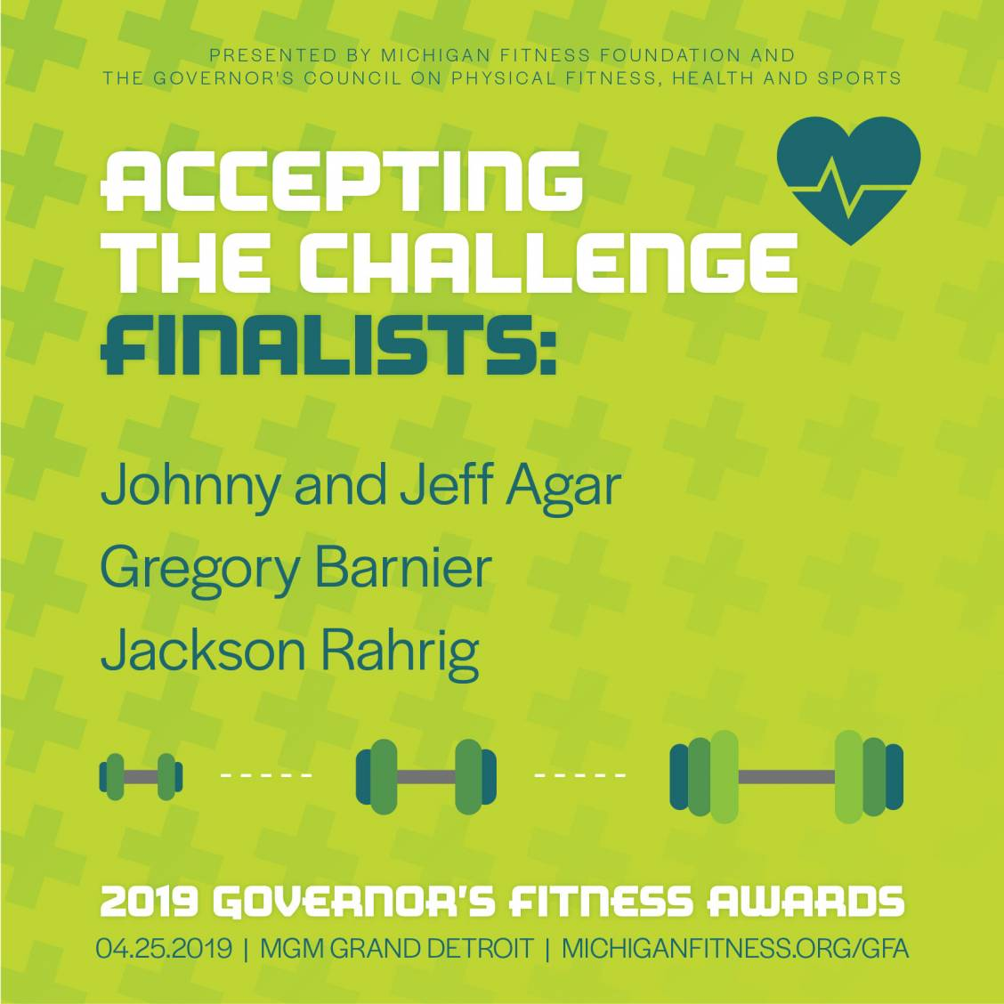 Accepting the Challenge Award Finalists