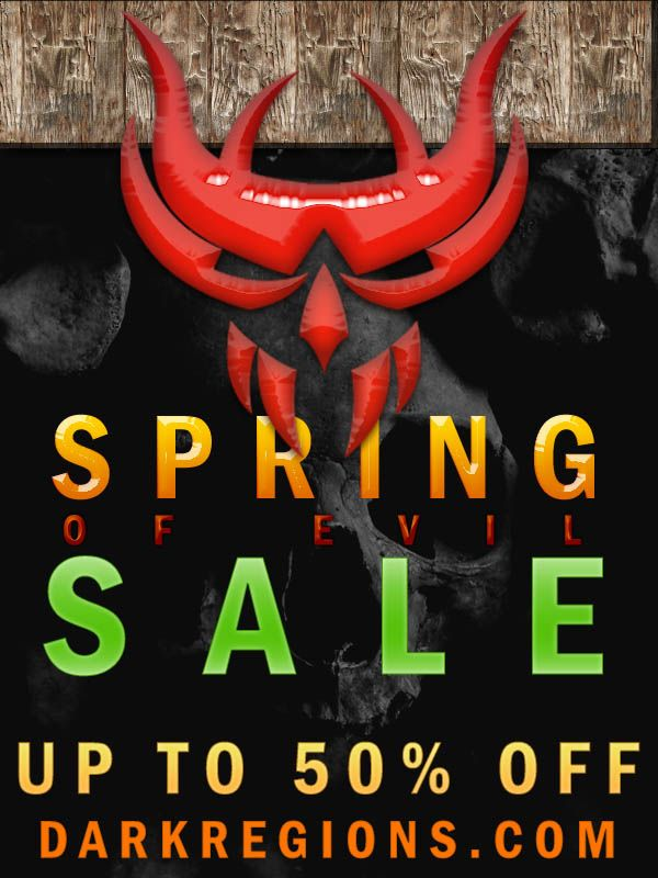 DarkRegions.com Spring of Evil Sale Save 50% OFF Books Now on DarkRegions.com