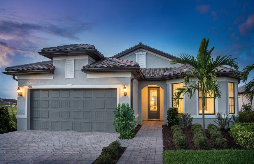 Pulte Homes has opened two new decorated model homes at River Hall