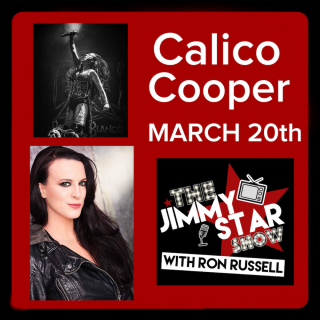 Calico Cooper on The Jimmy Star Show With Ron Russell