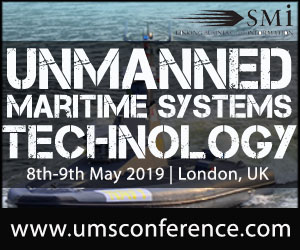 Unmanned Maritime Systems Technology 2019 Conference