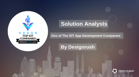 Solution Analysts is among Top IOT App Development