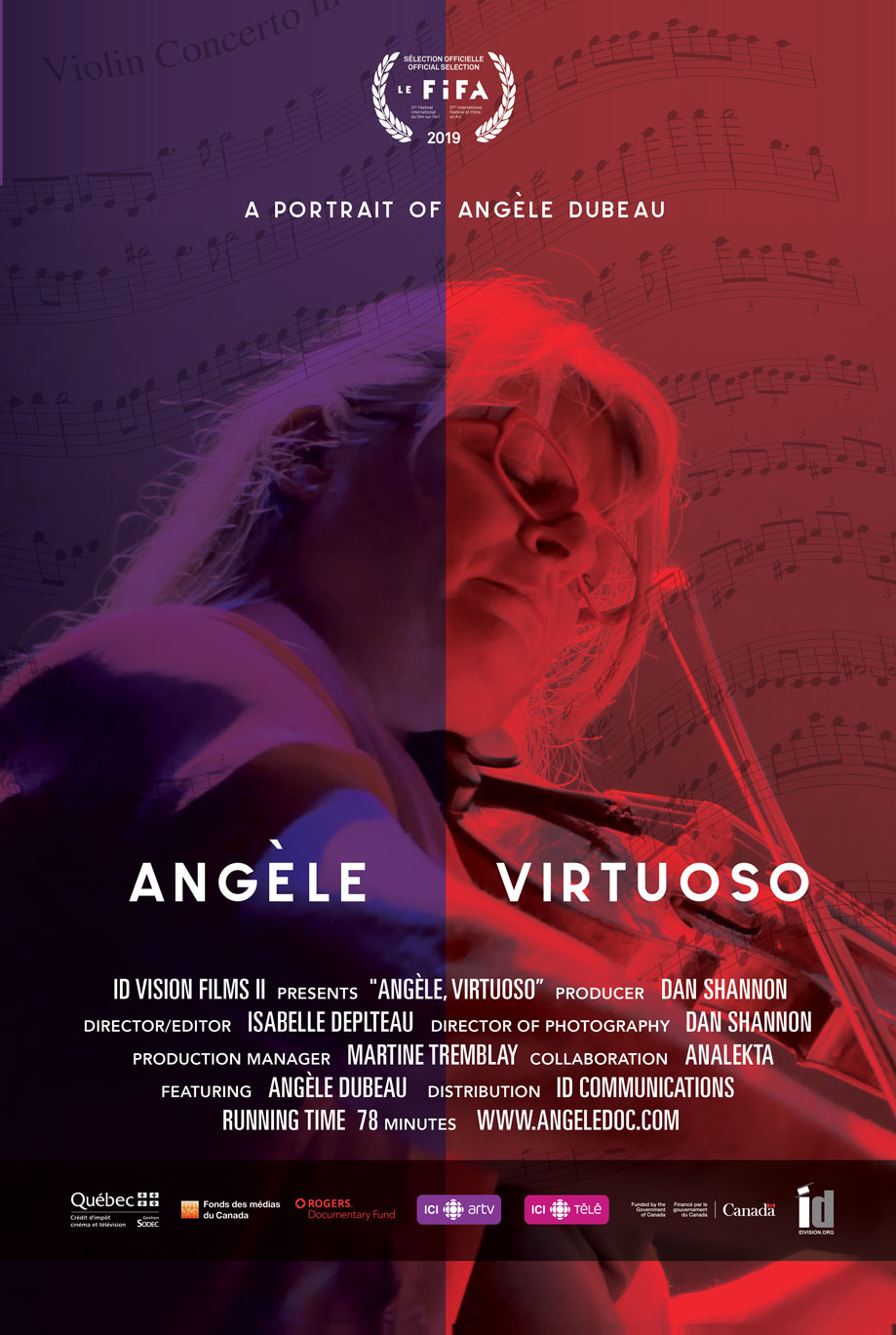 Angèle Virtuoso Documentary A Portrait of Angèle Dubeau