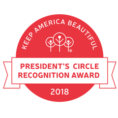 Gwinnett Clean & Beautiful has been Honored with a 2018 President Circle Award