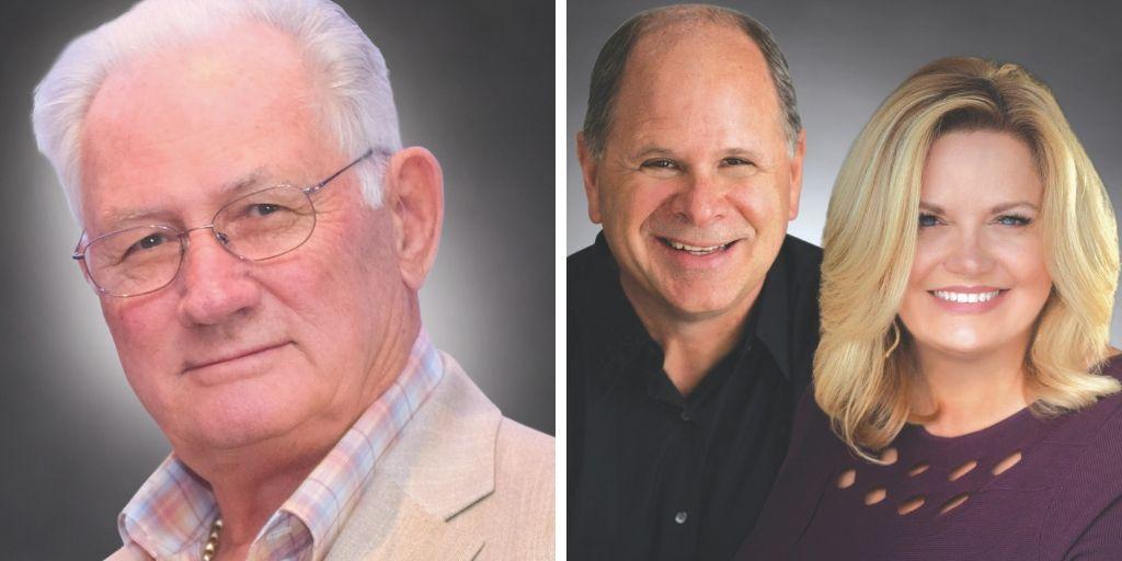 2019 Laureates - Dave Copham, Scott & Diana Willis