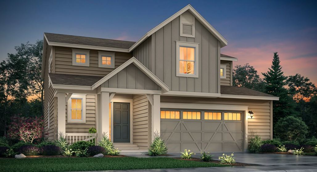 New homes for sale in Firestone and Thornton showcasing modern designs