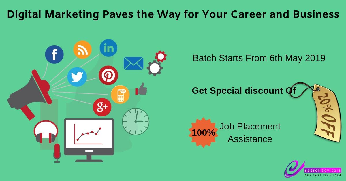 Digital Marketing Paves the Way for Your Career an