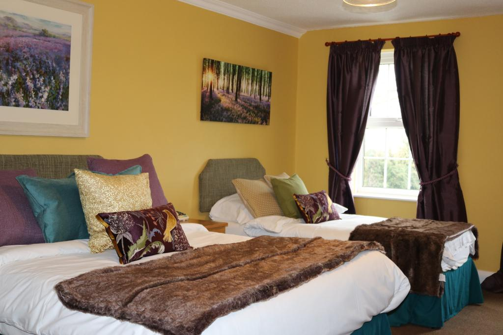 One of the Pilgrim Hotel's new Country Collection rooms