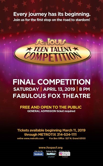 2019 St. Louis Teen Talent Competition