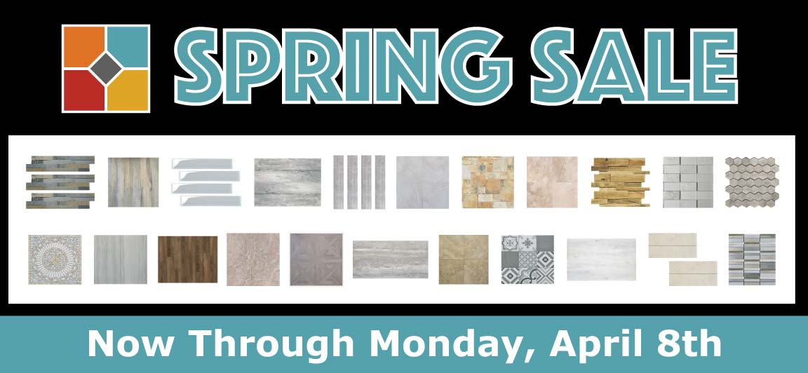Discover Great Values During the Tile Outlets Spring Sale Event