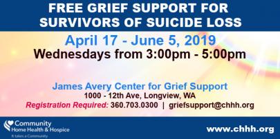 Survivors of Suicide Loss - Longview