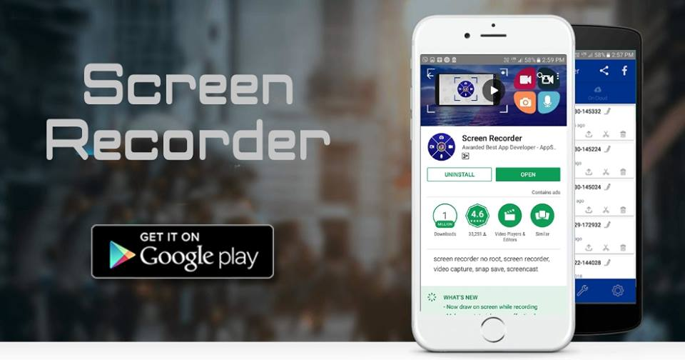 Screen Recorder: The Best App For Android and iOS -- Screen