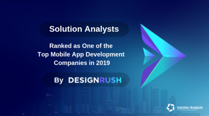 Ranked as One of the Top Mobile App Development Co