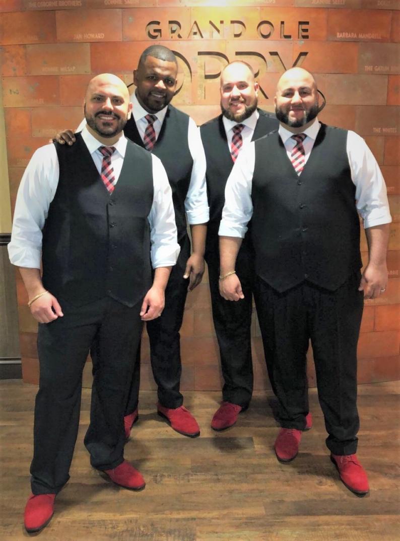 Signature Quartet - Paul, Daniel, Dan W. and Will