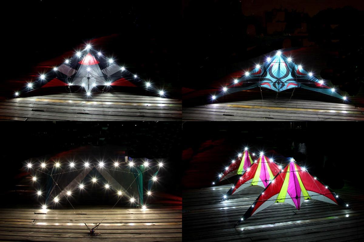 LED kite lights