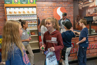 The Safeway Market in Young AmeriTowne provides financial education for kids.