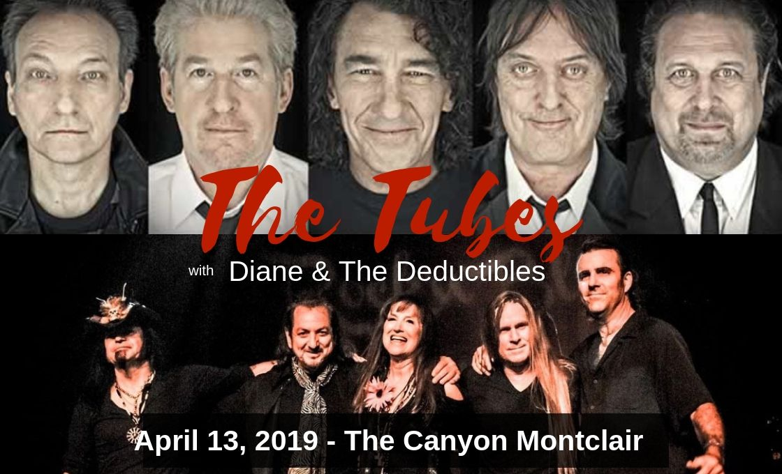 Diane & The Deductibles open for The Tubes at The CANYON MONTCLAIR