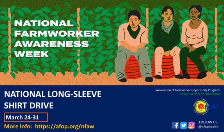 National Farmworker Awareness Week 2019 Logo