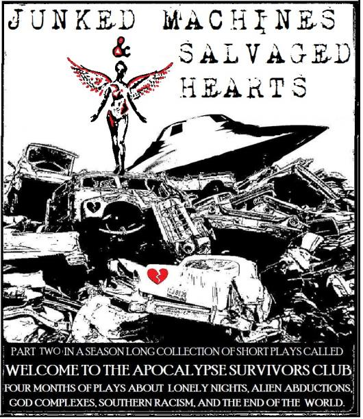 Junked Machines & Salvaged Hearts flyer