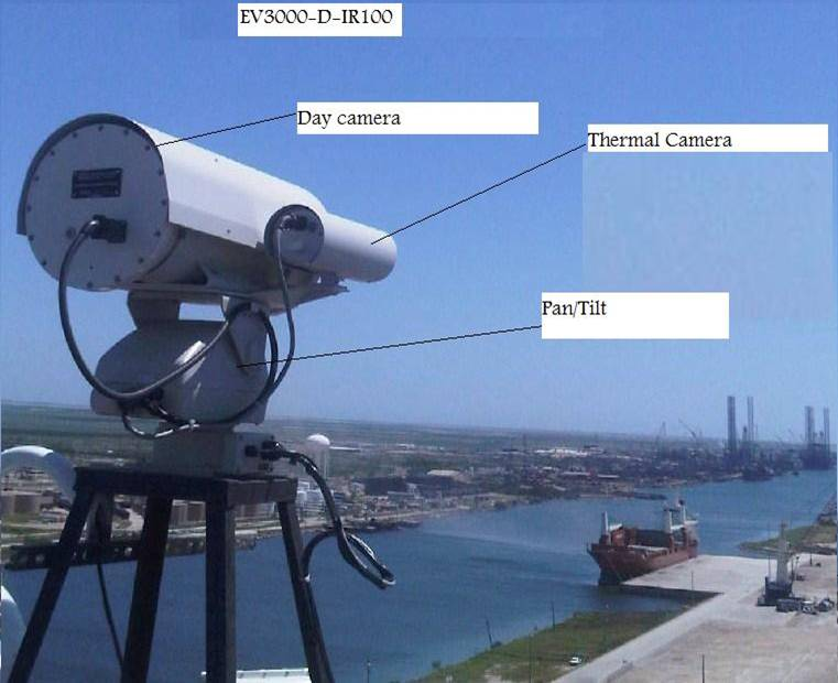 Border and Harbor Camera zoom distance 1 to 25 km | MENAFN COM
