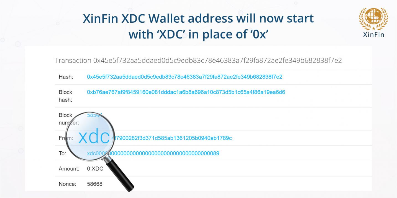 XinFin XDC Wallet