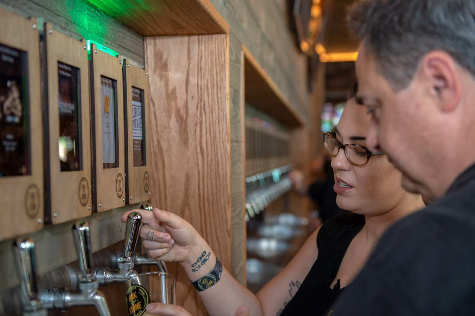 Oak & Stone's new Sarasota location will have 50 self-serve taps to choose from.