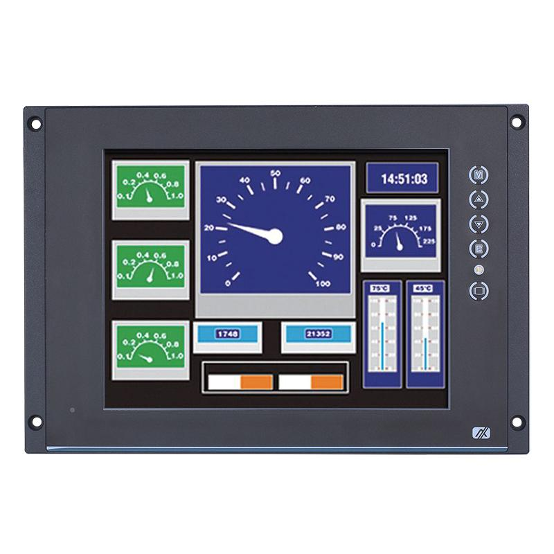 Axiomtek's latest EN 50155-compliant railway touch display monitor, the P6125.