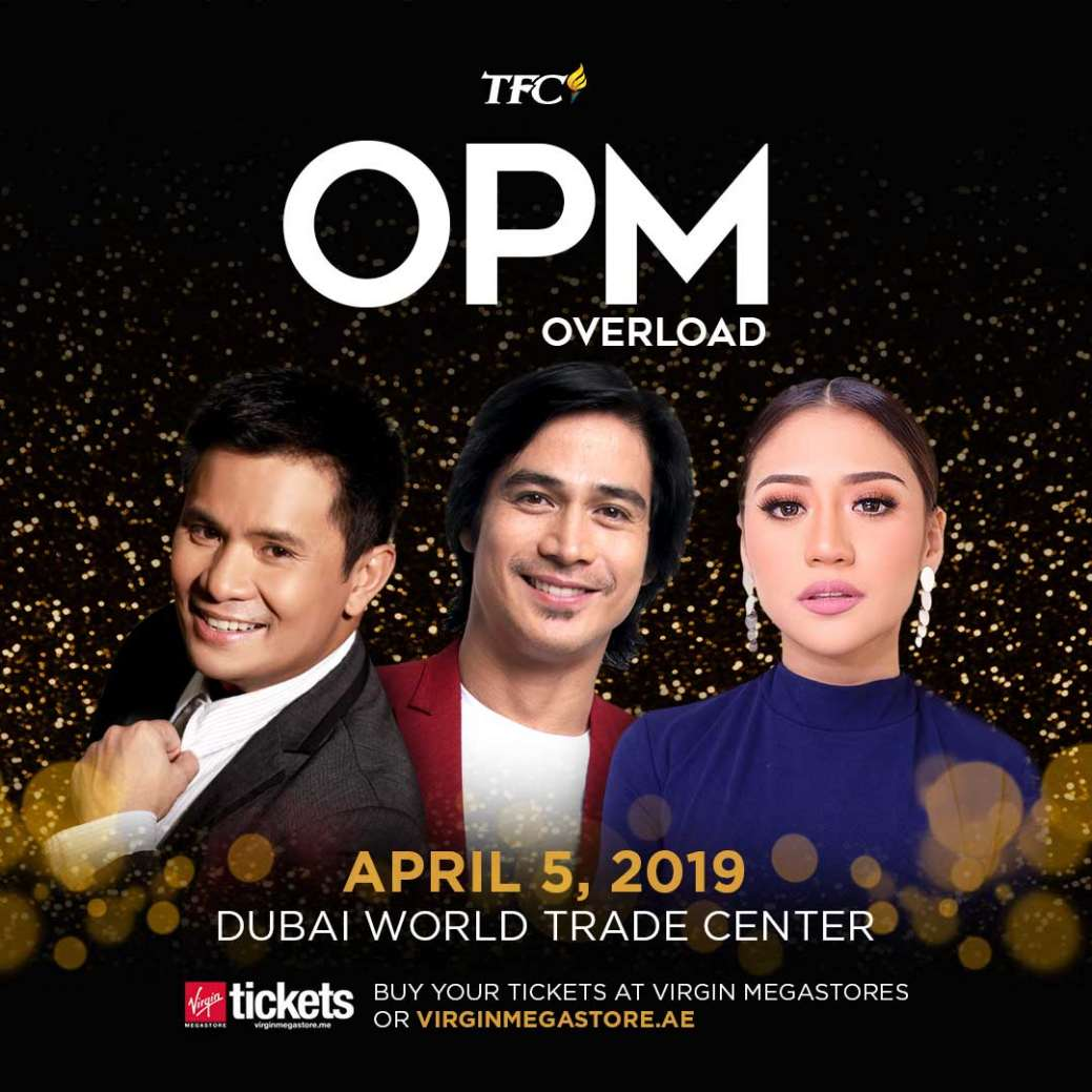 Ogie Alcasid, Piolo Pascual, and Morissette Amon in OPM Overload